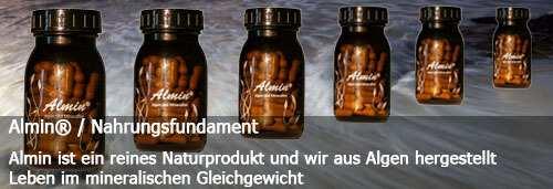 Dieses Bild zeigt Almin Flaschen von Reico Vital-Systeme